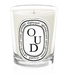 Diptyque Oud Scented Candle available to buy at Harrods. Shop luxury home fragrance online & earn reward points.