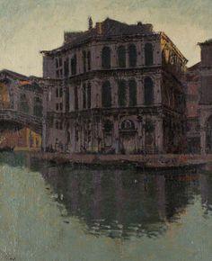 Walter Sickert - Rialto Bridge and the Palazzo dei Camerlenghi
