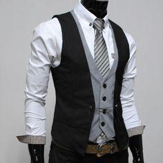Interesting double vest but I kind of like it.