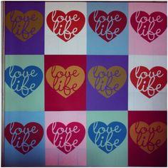 love life screenprints