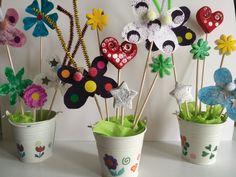1000 id es sur le th me pots de fleurs d cor s sur - Decoration avec des pots de fleurs ...