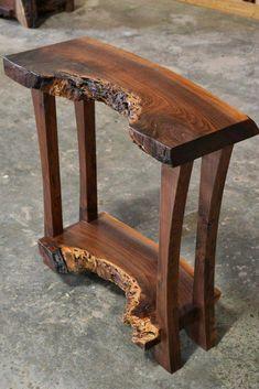 Handmade Wood Furniture, Rustic Log Furniture, Live Edge Furniture, Cool Furniture, Furniture Online, Modern Furniture, Furniture Design, Rustic Table, Rustic Wood
