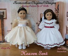 Style Fit & Flare Dress Pattern / Fits like American Girl doll Clothes Patterns – Clothing Patterns Doll Sewing Patterns, Doll Clothes Patterns, Clothing Patterns, Costume Patterns, Sewing Dolls, Pdf Patterns, Pattern Ideas, Ag Dolls, Dress Patterns
