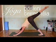 15 minut s velkým míčem | Cviky pro pevné břicho - YouTube Yoga Videos, Workout Videos, Exercise To Reduce Thighs, At Home Workouts, Health Fitness, Youtube, Sports, Reiki, Diabetes
