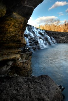 Hemmed In Hollow Falls Ponca Arkansas Arkansas