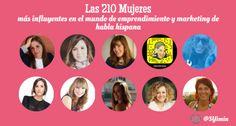 ¡Nuestra Vicepresidente de Asuntos Corporativos, Tannia Moya, fue seleccionada como una de las 210 mujeres más influyentes en el mundo de emprendimiento y marketing de habla hispana!