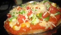 Millet Crust Pizza | Healthy Gluten Free Veggie Pizza | Cooking From Heart Millet Recipes, Regular Pizza, Whole Wheat Pizza, Thin Crust Pizza, Veggie Pizza, Gluten Free Pizza, Canned Tomato Sauce, Best Dishes