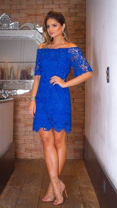 Thássia de Linda de Morrer Stylish Dresses, Formal Dresses, Party Looks, Dress Me Up, Casual Looks, Dame, Lace Dress, Cool Outfits, Womens Fashion