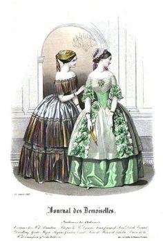 Journal des Demoiselles, année 1848