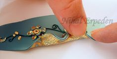 Benzo's tutorial named for Jana Roberts. #Polymer #Clay #Tutorial