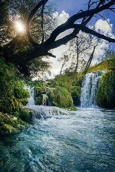 Wonderland Cascades. A hidden place in Plitvice Lakes.   #Croatia #waterfall #wonderland #InnerLightLeaks #Plitvice