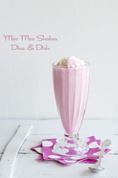 Moo Moo Shakes ~ A fun and refreshing variation on a traditional milkshake (hint: kool-aide!)
