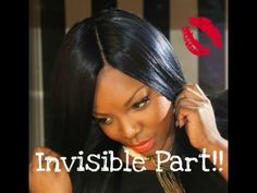 Invisible Part Weave Hairstyles - There are several types of hair length that fall under the short hairdo classification. Remy Human Hair, Remy Hair, Invisible Part Weave, Long Weave Hairstyles, Diy Wig, U Part Wig, Quick Weave, Wig Making, Hair Pictures