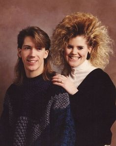 I'm thinkin' we should bring back us some 80's hair hahaha