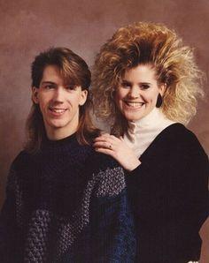 80's hair OMG
