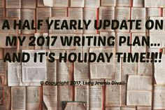 The home of L.J. Diva: my yearly writing plan update - details on the blog - http://www.ladyjewelsdiva.com/2017/07/im-off-on-my-second-writing-holiday-and-my-yearly-writing-plan-update.html