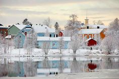 Pikisaari, Oulu, Finland  As usual, scroll down & be amazed.