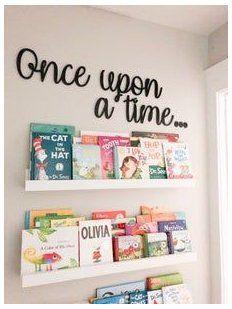 Baby Playroom, Playroom Storage, Playroom Design, Playroom Decor, Office Decor, Bedroom Decor, Disney Playroom, Book Storage Kids, Kids Wall Decor