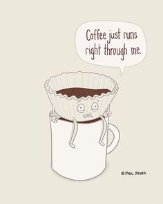 funny coffee filter