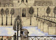 A Lion in Paris Beatrice Alemagna