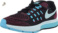Nike Womens Air Zoom Vomero 11 CP Running Trainers 823878 Sneakers Shoes (US 5, black blue pink blast 004) - Nike sneakers for women (*Amazon Partner-Link)