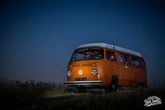 VW Camper Essai de photo de nuit du VW Combi   BeCombi