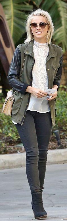Fashion Moment – Julieanne Hough's Military Jacket