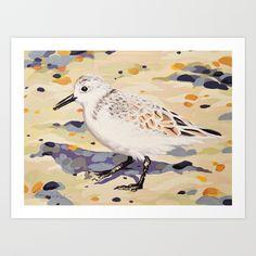 Sanderling Art Print