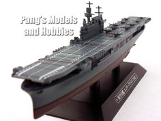 Carrier USS Enterprise (WWII) 1/1100 Scale Diecast Metal Model Ship by Eaglemoss