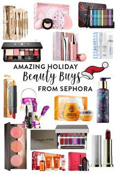 The best Holiday Beauty Buys from Sephora! Perfect for gifts, a treat for yourself, or stocking stuffers!