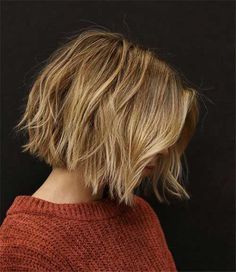 Best Short Wavy Bob Haircuts For . - Best Short Wavy Bob Haircuts for 2020 hair - Short Choppy Bobs, Short Choppy Haircuts, Short Wavy Bob, Short Hair Cuts, Short Hair Styles, Modern Haircuts, Chin Length Haircuts, Choppy Bob For Thick Hair, Bobs For Fine Hair
