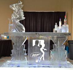 James Bond themed ice bar