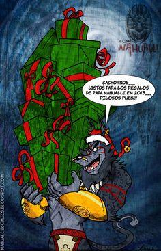 Tarjeta de Felicitaciones de Los Amigos del Clan Nahualli de Colombia, Gracias, hermanos