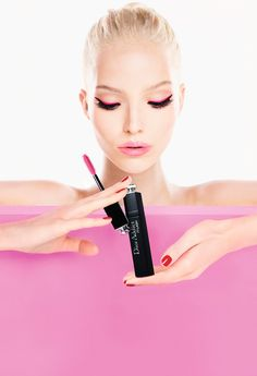 Sasha Luss Becomes The Face of Dior Addict It-Lash