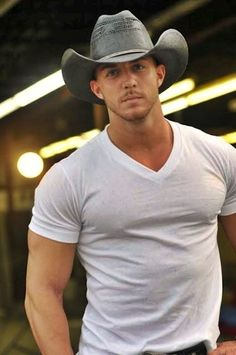 Ride me a cowboy 【Follow me】 Hot cowboy, maybe a red head or strawberry blond
