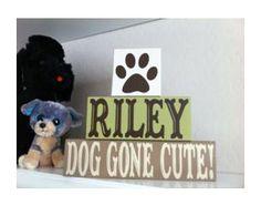 """Dog Gone Cute!"" (I so need to be preggo like, now. A dog-themed nursery would be so cool!)"
