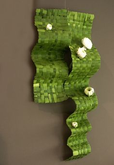 Woven Greens & Blossoms