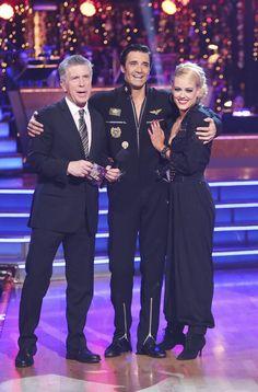 Tom with Gilles & Peta
