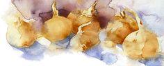 kate osborne Artist Artwork Gallery, Watercolour, animals, chickens, still life Kate Osborne, Recipe Drawing, Watercolor Artists, Fruit And Veg, Food Illustrations, Garden Art, Digital Illustration, Still Life