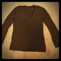 Beautiful brown sweater V-neck Axcess by Liz Claiborne Sweaters