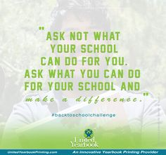 Share with us one thing, however small it may be, that you can do and how you can make a difference in your school. #backtoschool #backtoschoolchallenge #students #teachers #parents #schooladministration