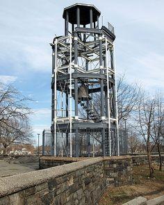 Harlem Fire Watchtower, Marcus Garvey Park, New York City by jag9889, via Flickr