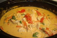 Basil & Butter: Adventures in the Delectable: Thai Chicken and Pineapple Curry