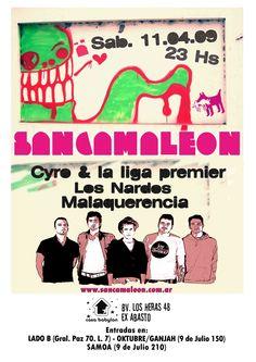 Flyer - Sancamaleon   Córdoba.