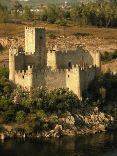 castle of almourol   The Castle of Almourol is medieval castle, located on a small islet in ...