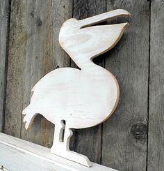 PELICAN-Wall Art- DISTRESSED