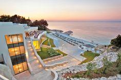 5 Sterne Kempinski Hotel Kroatien - Präsidentensuite Henry Morgan - Jacuzzi auf der Privat-Terrasse | Lili Nova