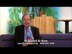 Edward de Bono and the Six Thinking Hats Room