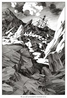 """""""We are still surrounded by mountains of ice"""" 