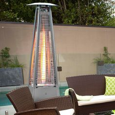 Gasmate Deluxe Stainless Steel Flame Heater